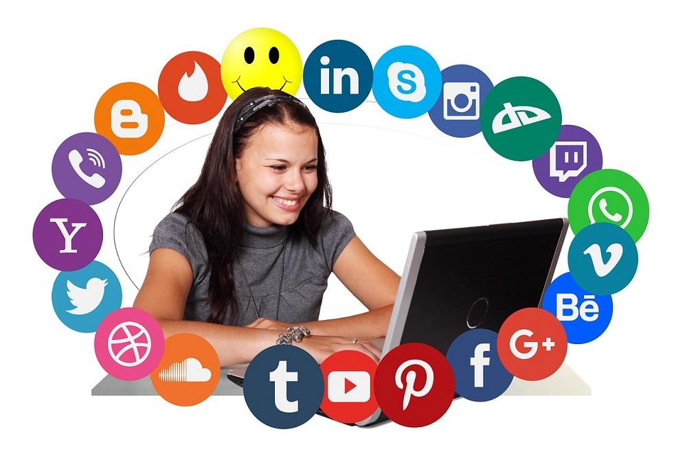 social media advert
