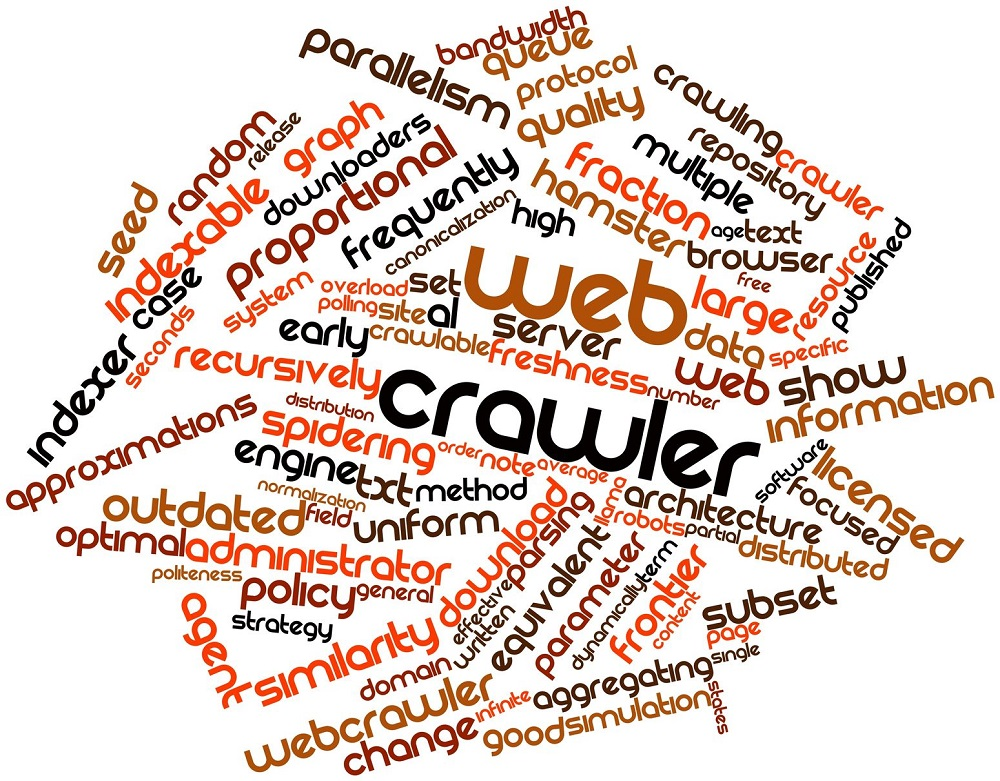 16602955 - abstract word cloud for web crawler with related tags and terms