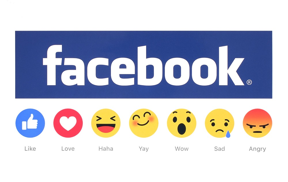 53643256 - kiev, ukraine - february 26, 2016: new facebook like button 6 empathetic emoji reactions printed on white paper. facebook is a well-known social networking service.