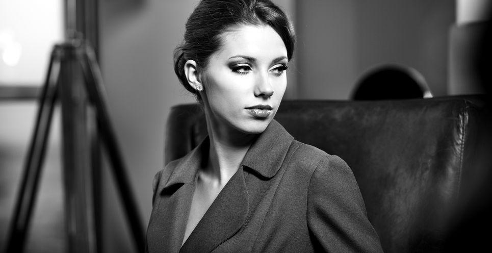 11622891 - portrait of a young business woman in an office