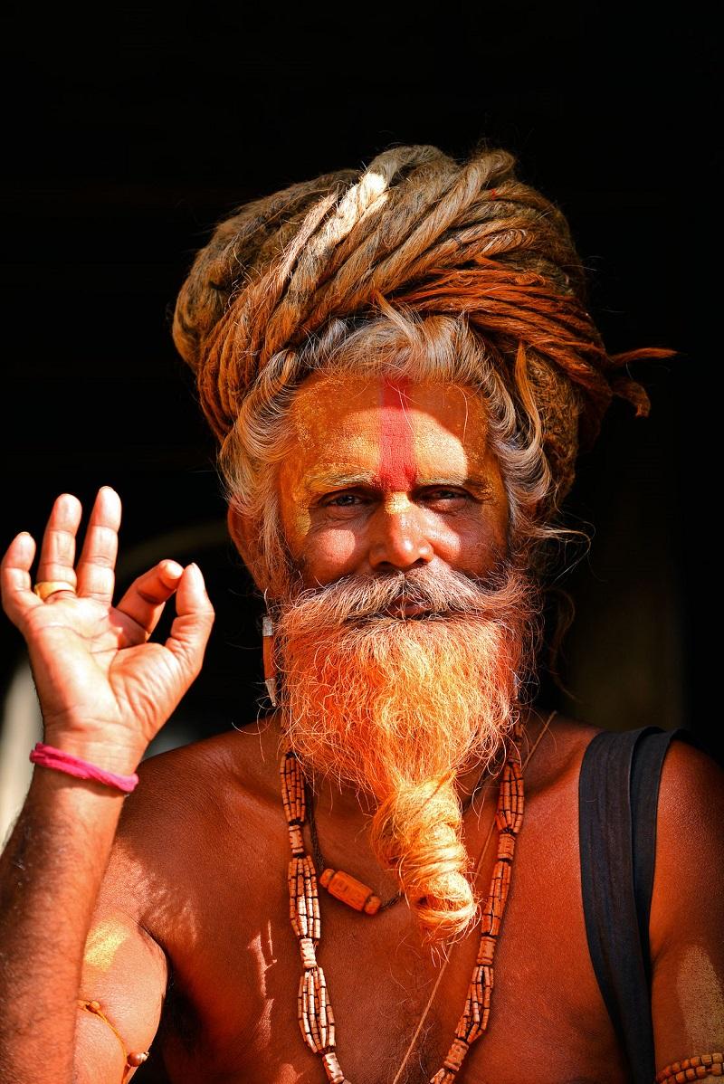24957972 - kathmandu - oct 8 sadhu at pashupatinath in kathmandu sadhus are holy men who have chosen to live an ascetic life and focus on the spiritual practice of hinduism on oct 8, 2013 in kathmandu, nepal