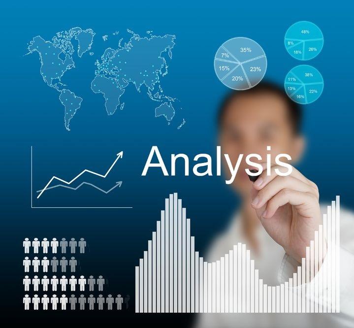 13241710 - business man writing data analysis